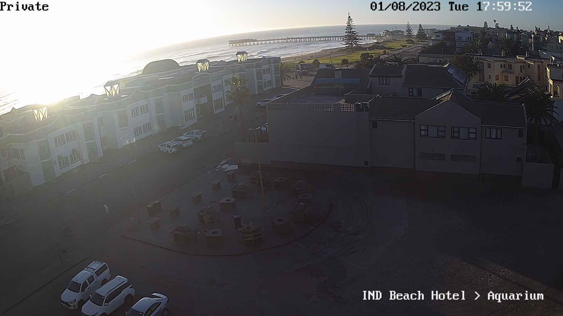 Livebild vom Strand